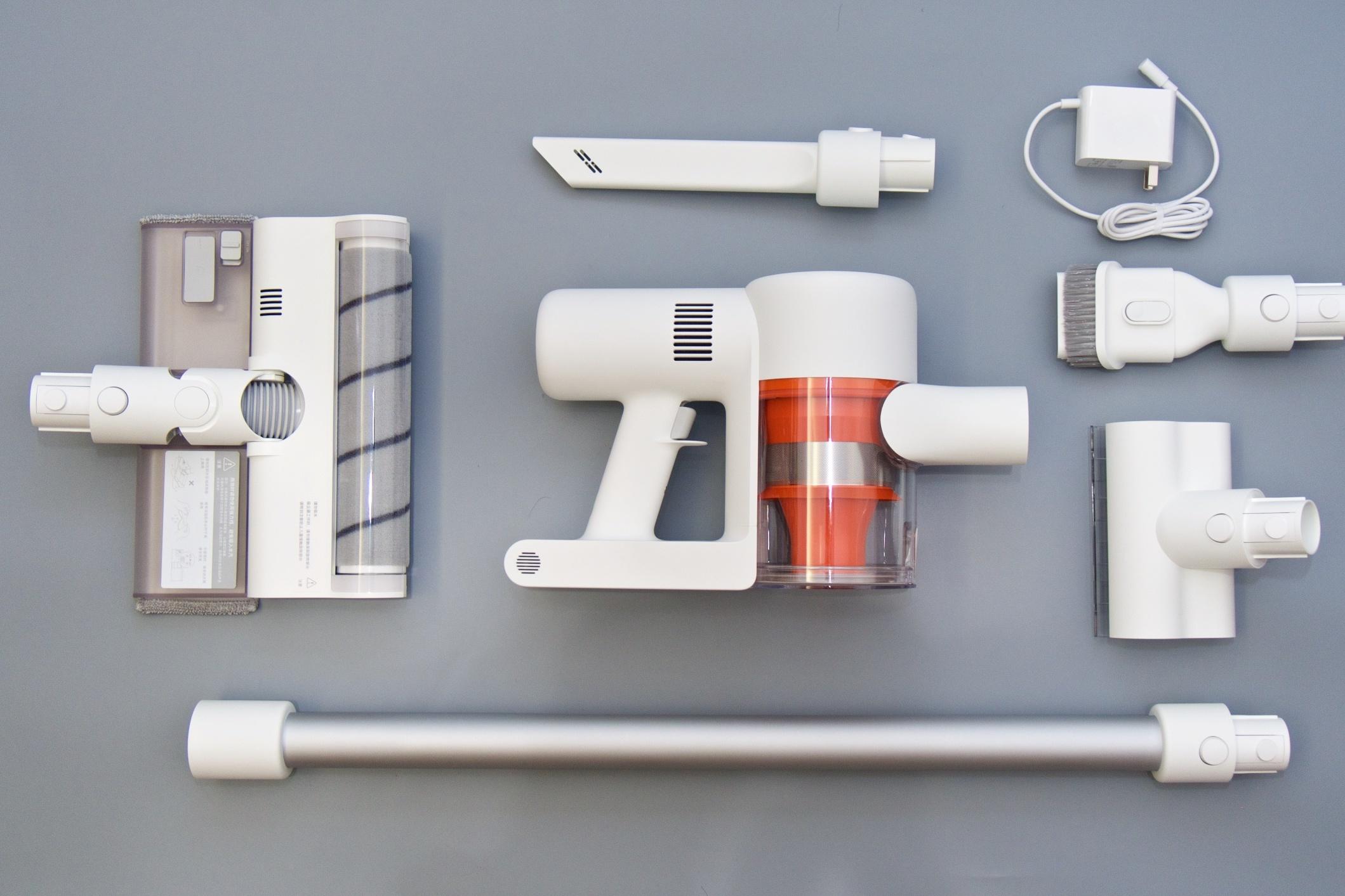 米家无线吸尘器K10到手测:不止是多了块屏