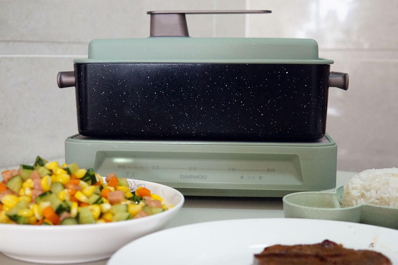 让家人更有口福,大宇S11多功能料理锅体验!