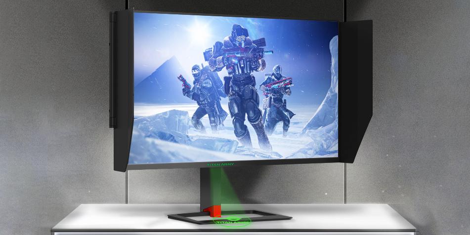 泰坦军团电竞显示器T27QR