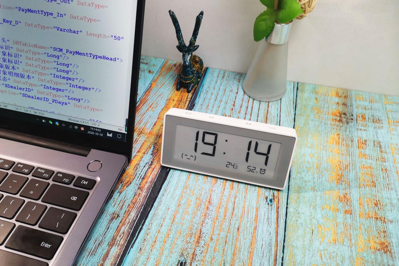 时钟可以这样玩,秒秒测智能时钟温湿度计体验