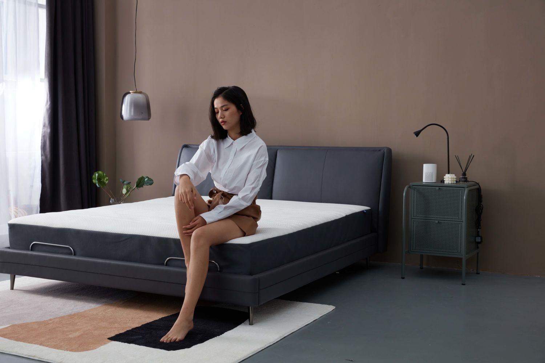 享受未来智能睡眠  8H Milan智能电动床Pro