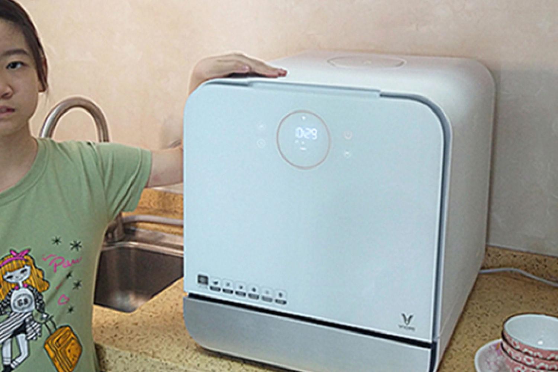 云米台面洗碗机Sugar A1:清洁去污,健康生活