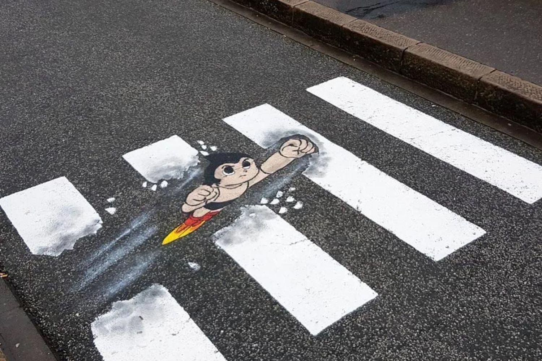 """街头艺术,给你不一样的""""斑马线""""视觉艺术"""
