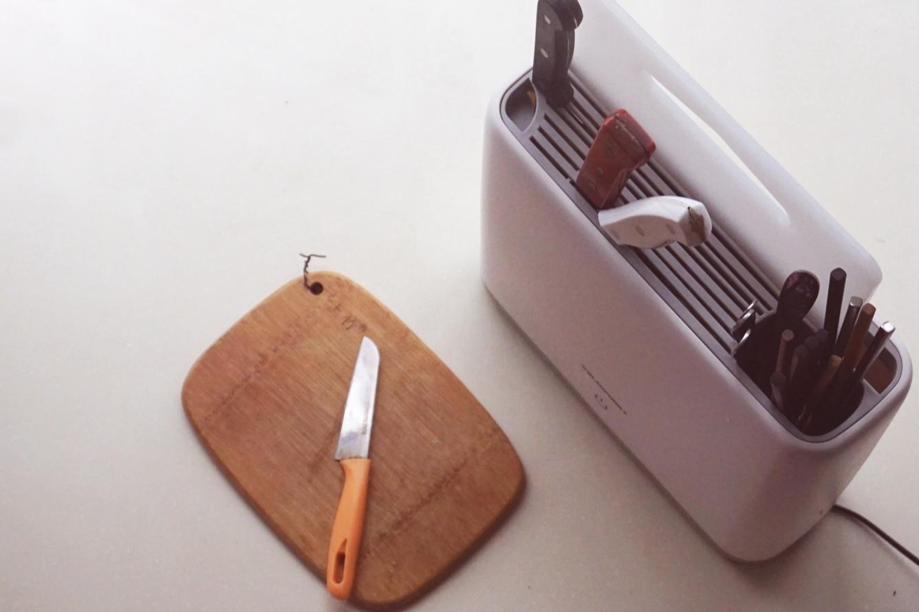 #双11晒单#刀具菜板来者不拒,宝蓝消毒机测评