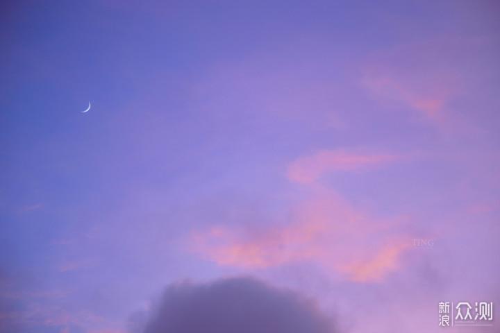在秋天的最后,赶上了一波超美的晚霞_新浪众测