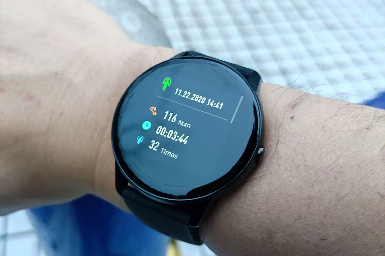 手环价钱买手表 咕咚F4测体温跳绳计数样样有