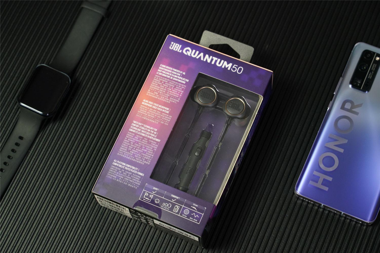 亲民价全平台入耳式游戏耳机,JBL QUANTUM50
