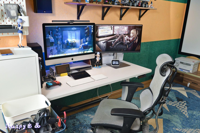 可高可矮、可站可坐,乐歌E3升降桌使用体验