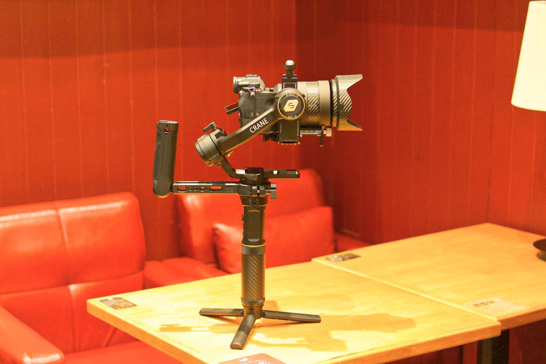 智云云鹤2s相机稳定器上手体验报告