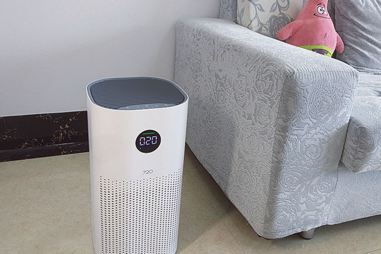 静音、智能的全效空气净化器1i的体验