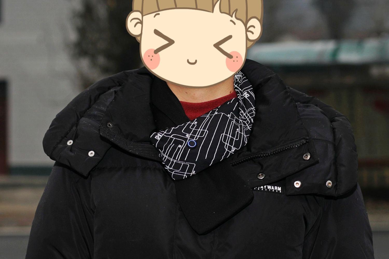 有它三冬暖有它春不寒:fooxmet风谜发热围巾