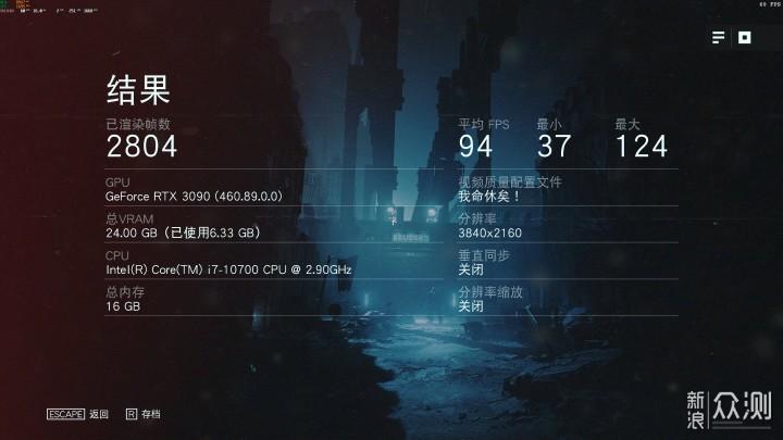 安培旗舰面前众生平等,华硕RTX3090 TUF体验_新浪众测