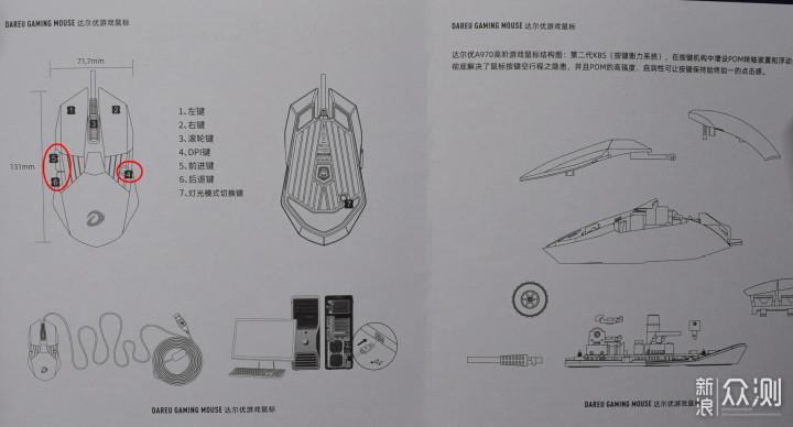 冰封王座再次安装,达尔优电竞鼠标A970开箱_新浪众测