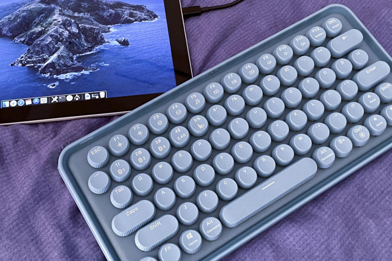 甜食系机械键盘,雷柏ralemo Pre 5晒物