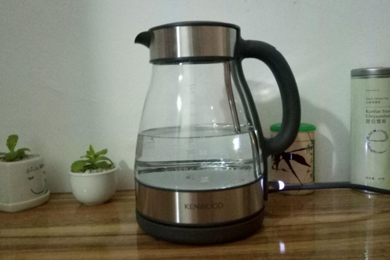 享受品质生活,凯伍德玻璃电水壶体验