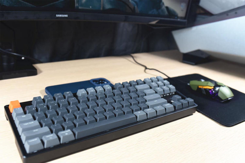 视觉与手感兼具-Keychron K8双模RGB机械键盘