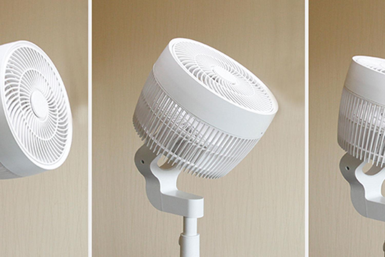 四季使用皆宜的风扇,舒乐氏3D季风空气循环扇