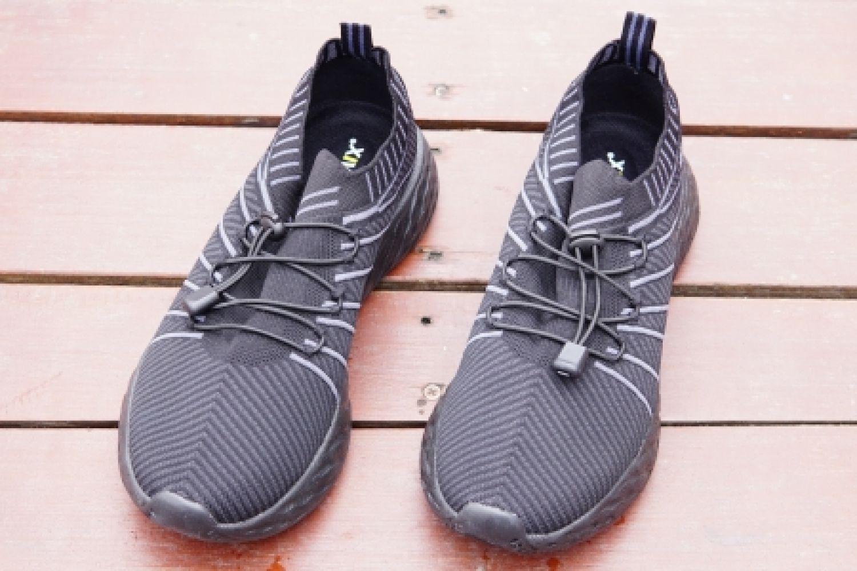 防水透气,耐脏省心:OneMix小黑鞋上脚体验