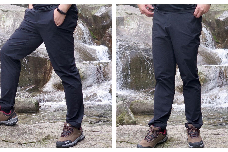 新入手的防风登山徒步裤体验分享