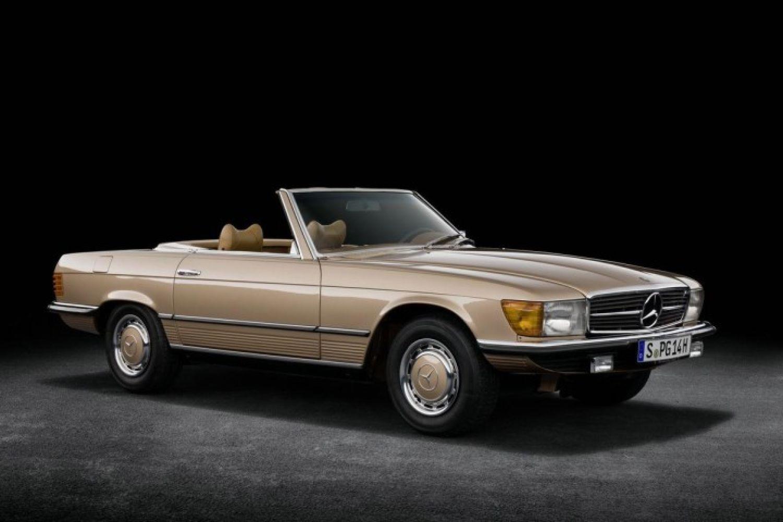 纯粹的帅,半个世纪的奔驰R107 SL传奇历史
