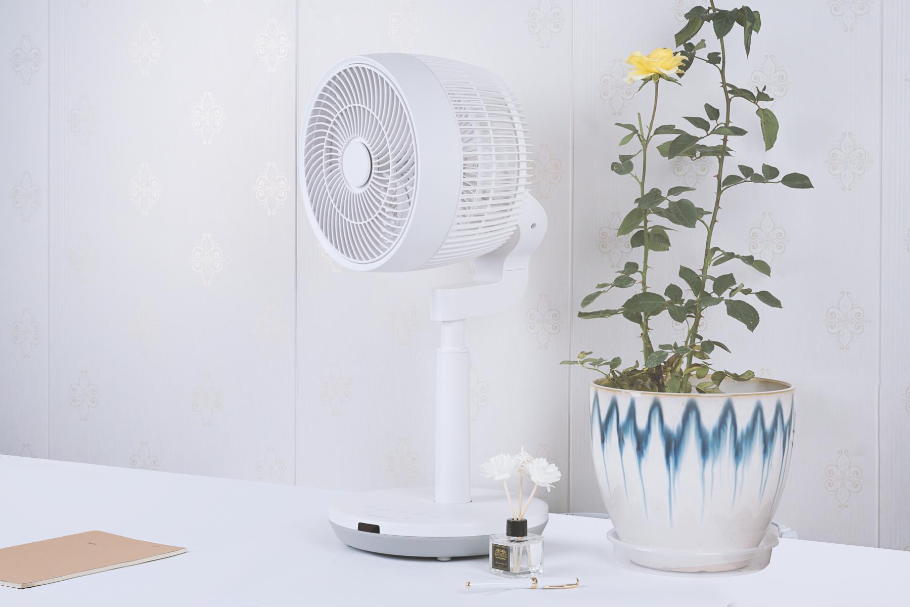 舒乐氏3D季风空气循环扇体验!