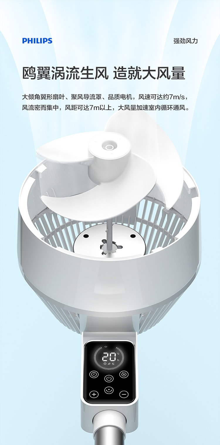 飞利浦空气循环扇免费试用,评测