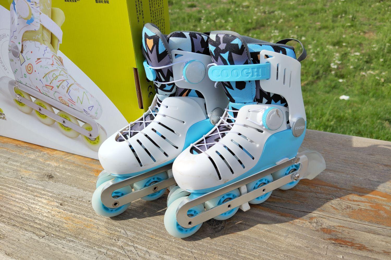 给孩子童年最好的礼物:儿童轮滑鞋!