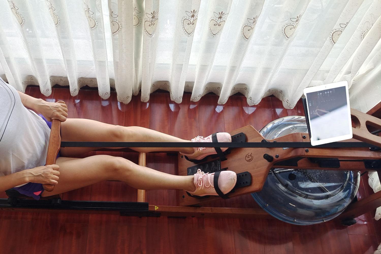 刘涛同款野小兽划船机助你 练出好身材
