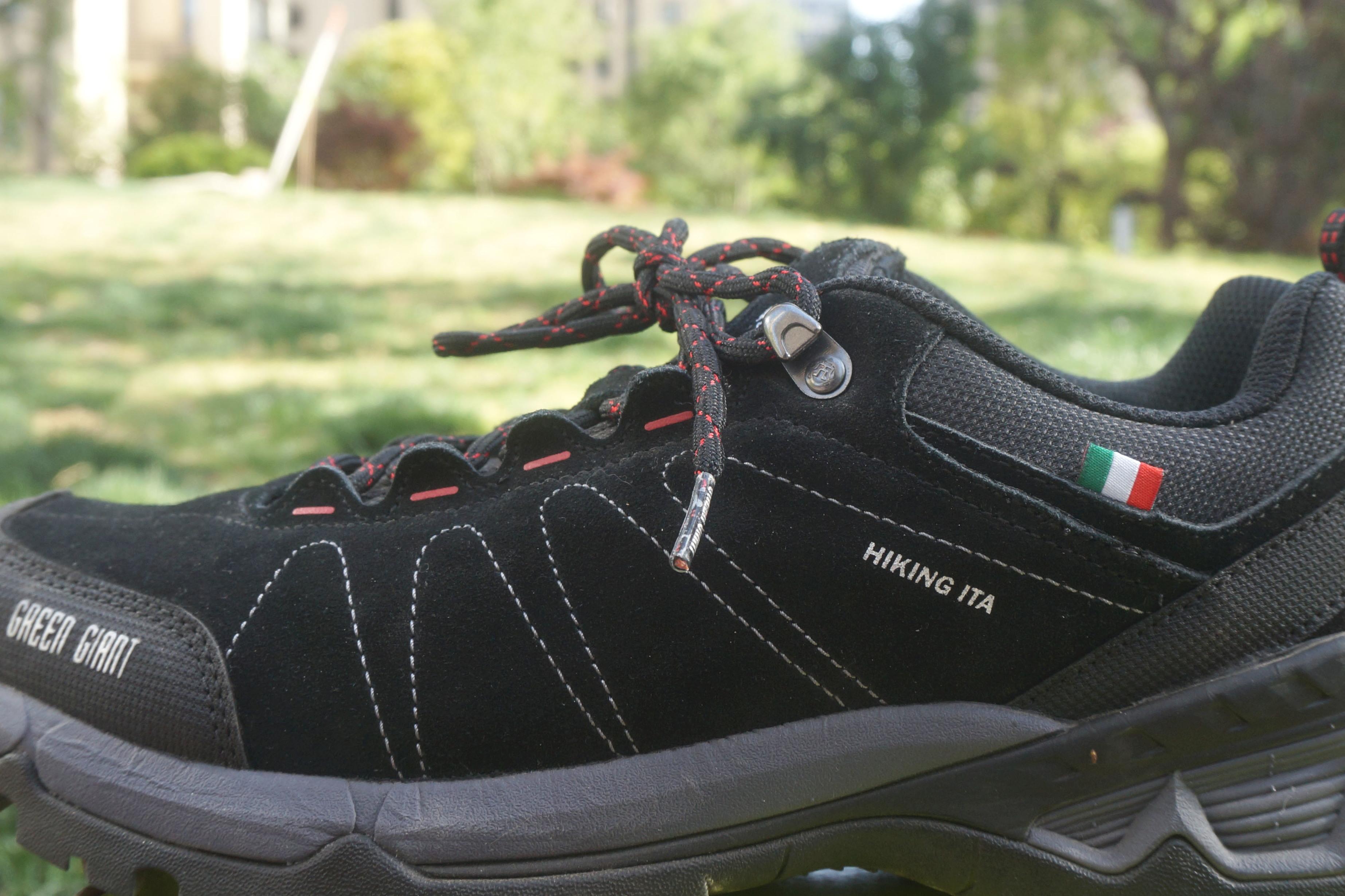 阿迪耐克拜拜,新国货出现!图途绿巨人徒步鞋