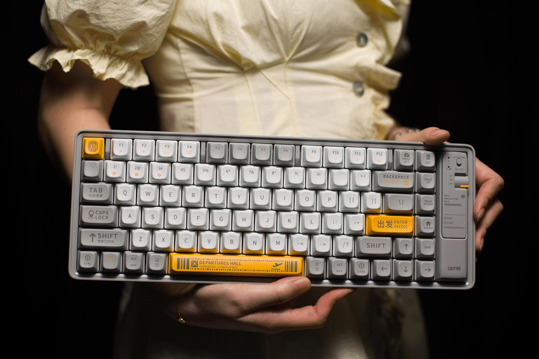 颜值即正义,告别机械键盘非黑即白时代
