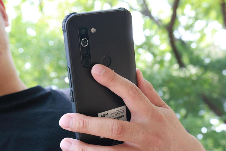 民族品牌 AGM X5三防户外5G手机暴力测评