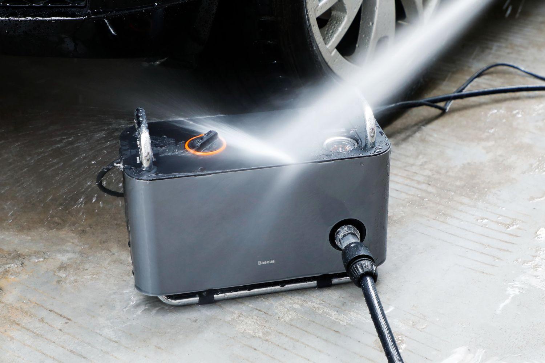自己洗车也挺香,倍思高压洗车机初体验