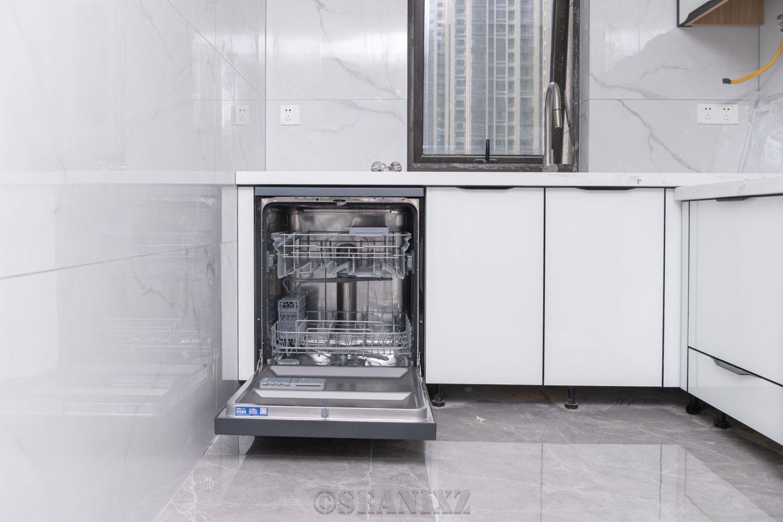 海尔G5 13套烘干自开门微蒸汽洗碗机