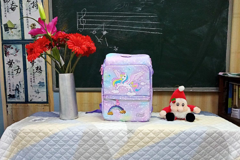给孩子减负从书包开始~GMT儿童护脊书包体验