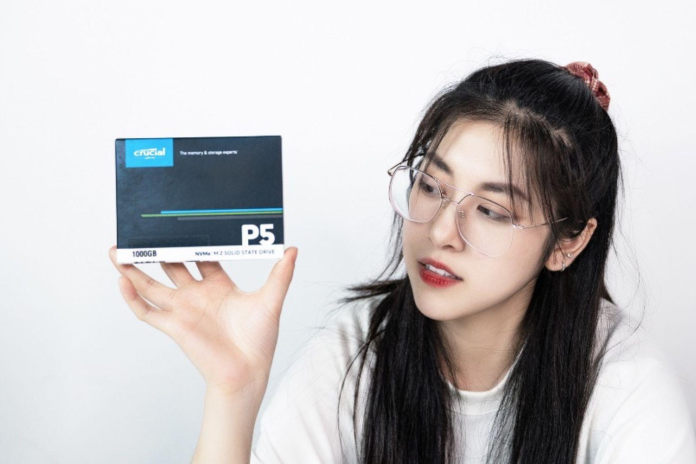 高速SSD,Crucial英睿达P5固态硬盘开箱评测