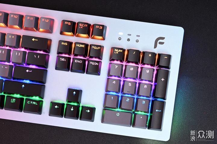舞动起来,极光面板,迪摩F1狂怒机械键盘_新浪众测