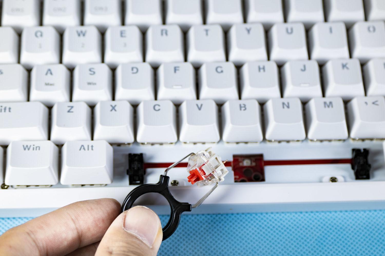 黑爵K870T蓝牙无线双模机械键盘体验