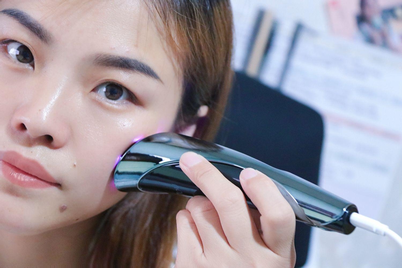 每天8分钟打造精致容颜!ANJOU射频美容仪体验
