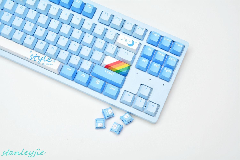 达尔优A87天空版机械键盘评测