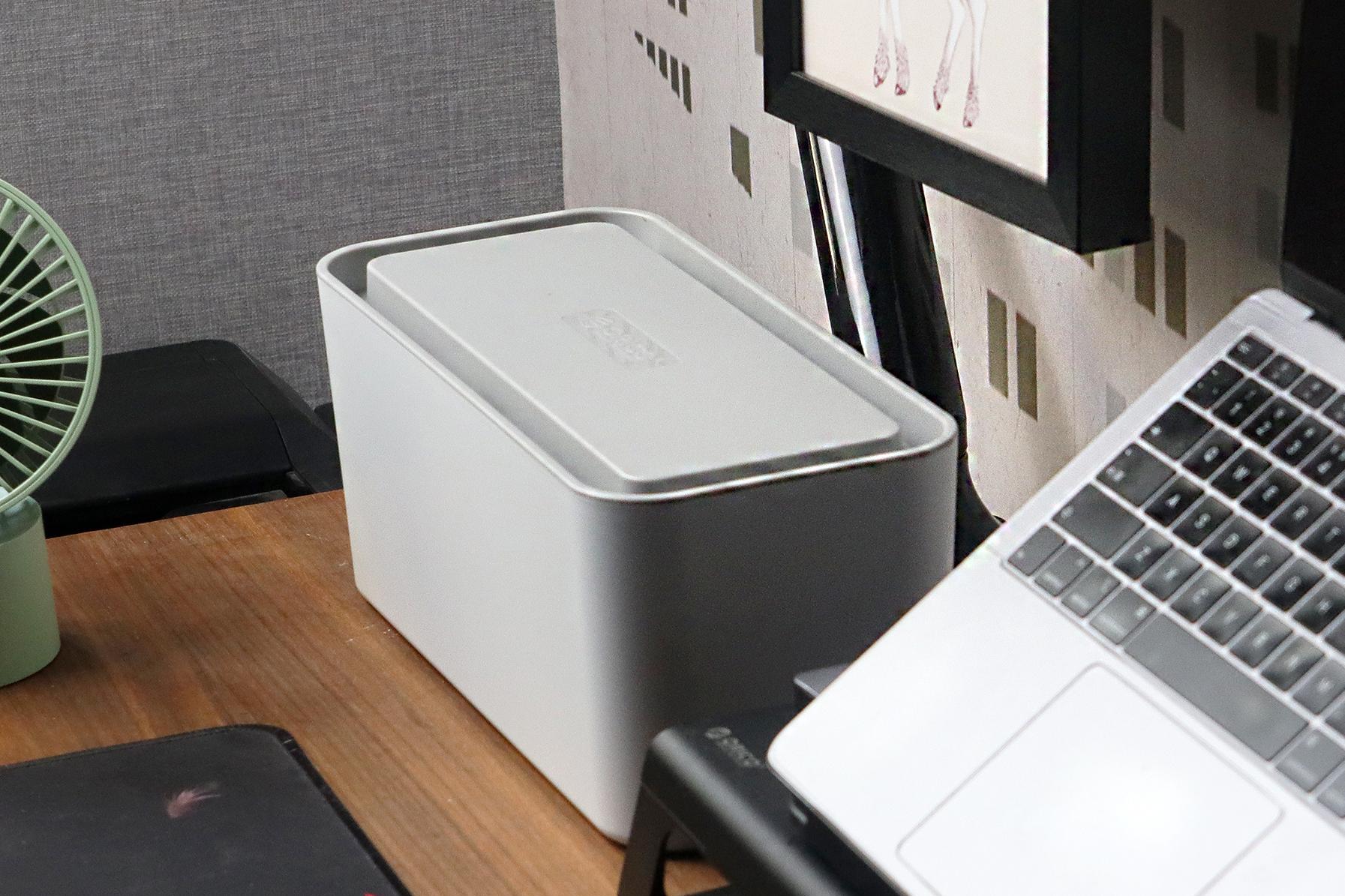 还你简洁桌面:奥睿科一体式收纳盒排插体验