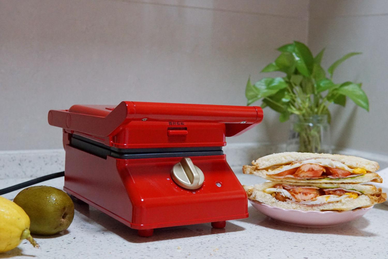 精致营养的早餐,从BRUNO帕尼尼轻食机开始