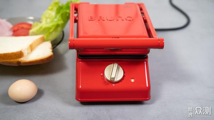 10分钟做早餐三明治——BRUNO帕尼尼机_新浪众测