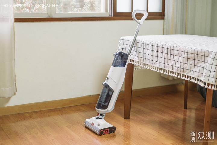 石头智能双刷洗地机U10:一等于二的清洁能力_新浪众测