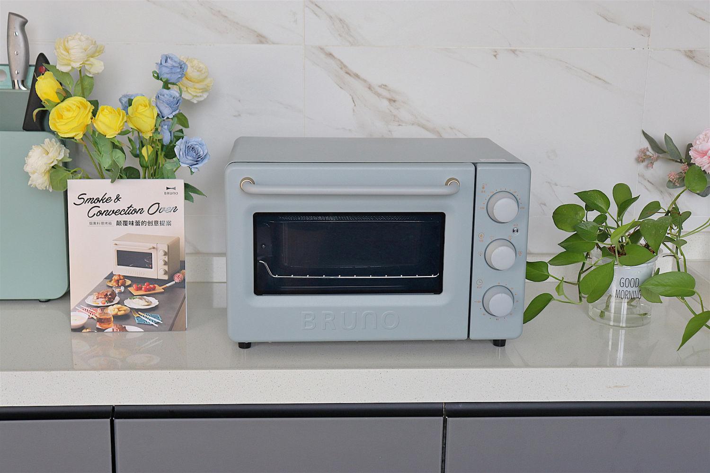 家有BRUNO烟熏烤箱就够了,小巧多用全新风味