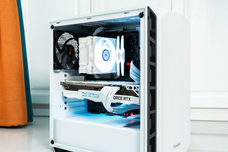 搭建高端白色游戏主机 影驰RTX3080Ti HOF装机