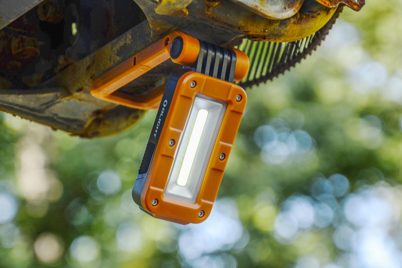 多向多能,大开眼界:傲雷双光源工具灯Swivel