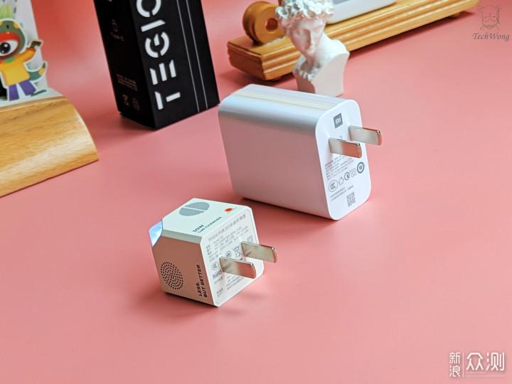 有颜有料好而不贵:硬糖30W糖纸联名款迷你快充_新浪众测