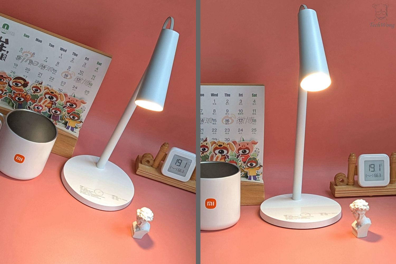 外观小巧轻松实现智能控制:米家智能充电台灯